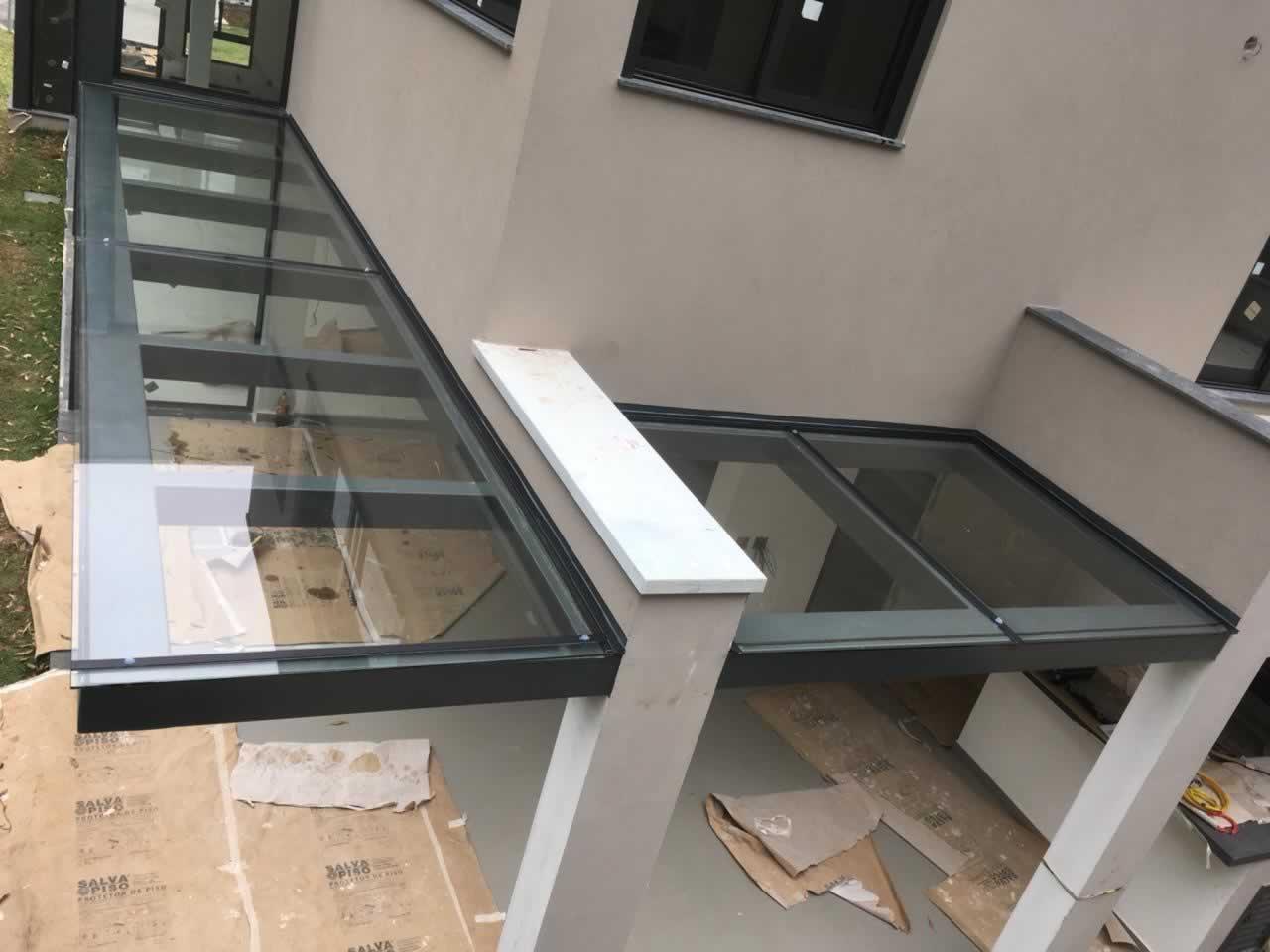 Cobertura Em Vidro Telhados Em Vidro Cobertura De Vidro Em Alphaville