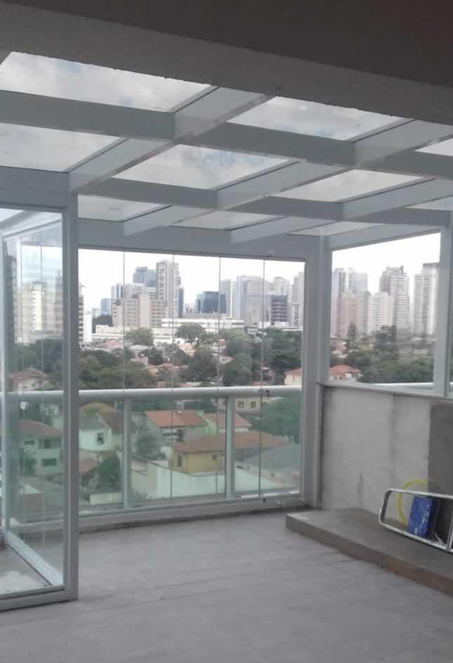 Famosos Cobertura em Vidro - Telhados em Vidro - Cobertura de Vidro em  OX85
