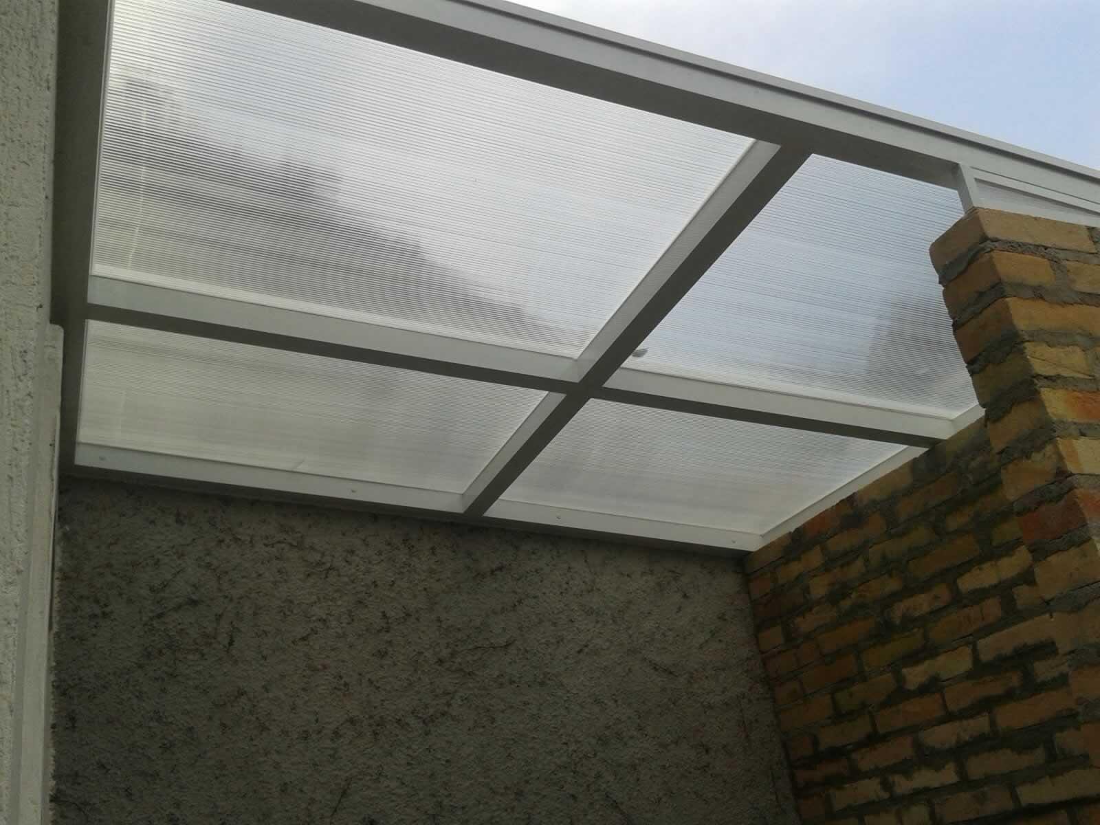 Preferência Cobertura em Vidro - Telhados em Vidro - Cobertura de Vidro em  UH06