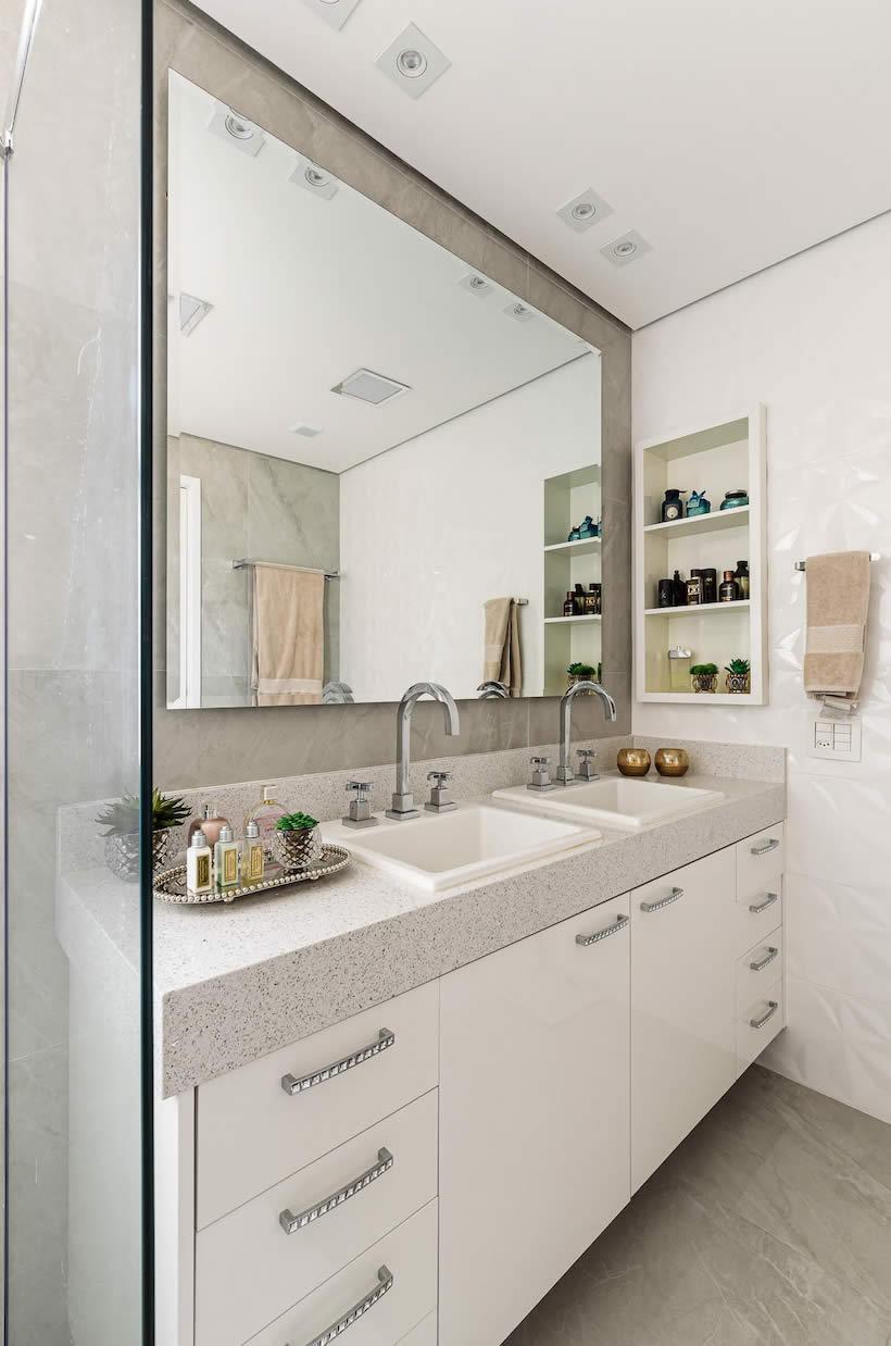 Espelho De Parede Para Banheiro Decoracao Salas Jantar Com Espelhos  -> Sala De Jantar Com Espelho Na Parede